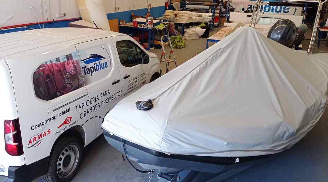Tapicería náutica: protege tu embarcación con lonas de fondeo