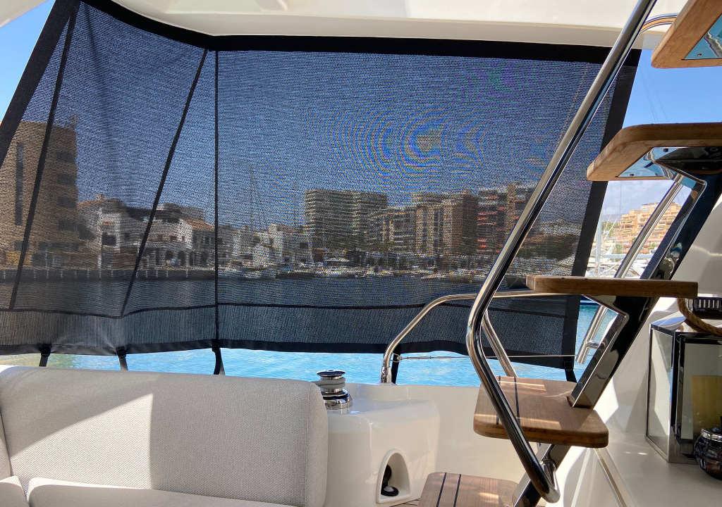 Tejido Soltis: 5 motivos para usarlo en la tapicería de tu embarcación
