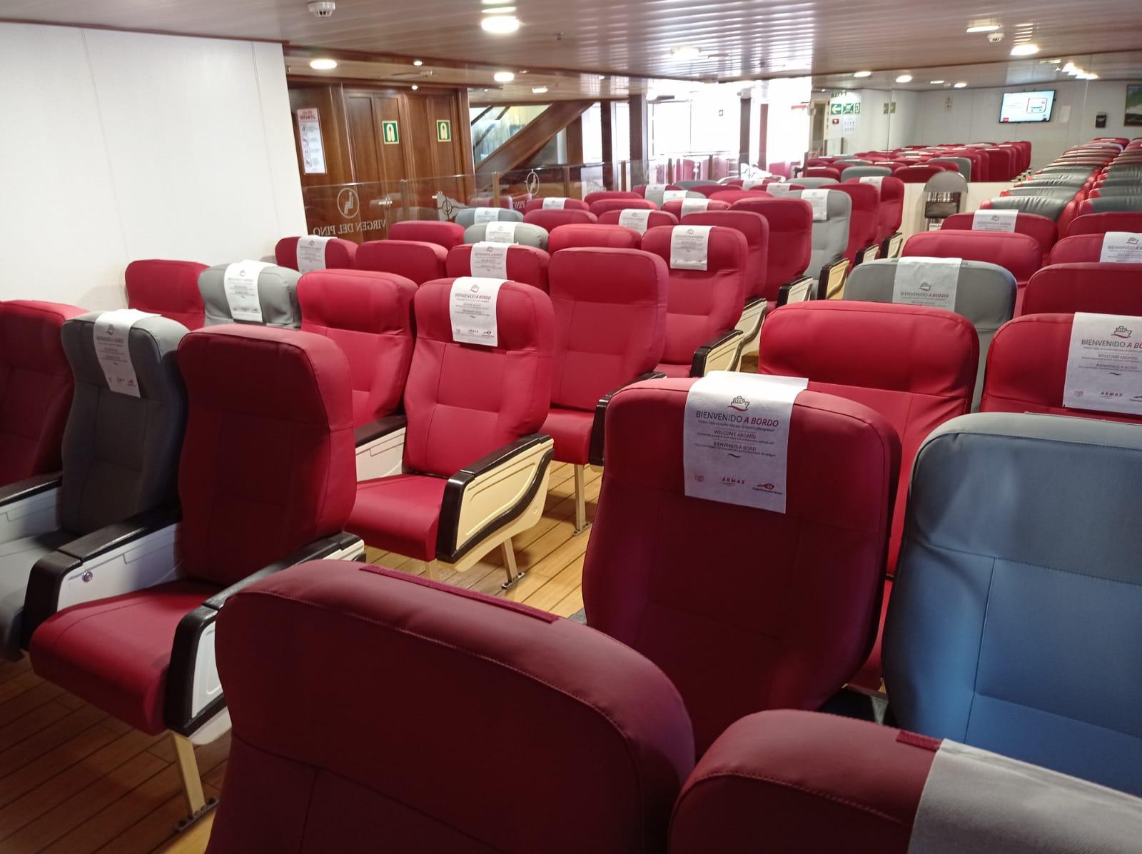 Confección y restauración de salas de pasajeros